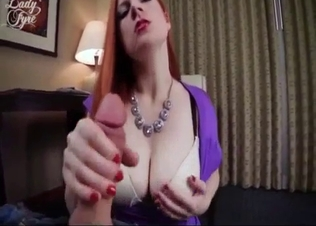 Sexy redhead mother rides a dick with love