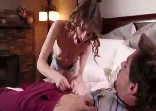 Hot young doll knows how to suck a boner
