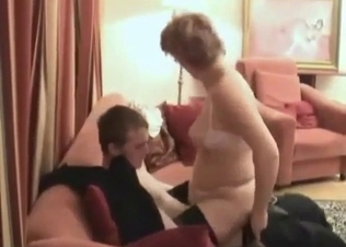 Curly hottie jerks and sucks a massive dick