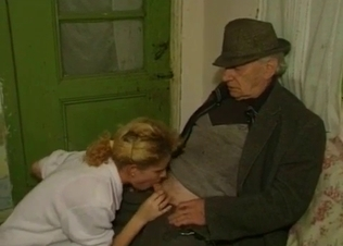 Old man fucked his sexy granddaughter