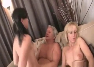 Cumming on big tits of my sexy daughter