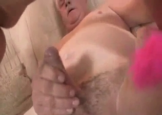 Old dad with hard dick fucked a daughter