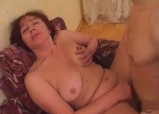 Fat-ass mom is enjoying dirty incest sex