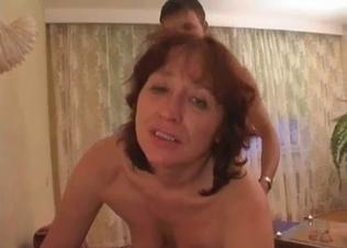 Fat-ass mom is enjoying dirty incest sex