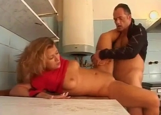 Busty brunette is enjoying hardcore sex