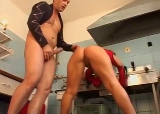 Busty brunette is enjoying hardcore sex