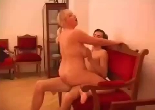 Cute busty blonde likes hardcore dick riding