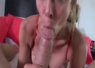 Sexy mom fucked hard by muscled son