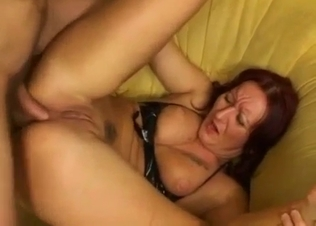 Stunning anal sex with astonishing daughter