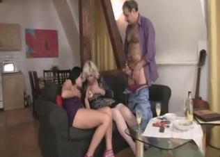 Dad pulls out his dick for a hot daughter