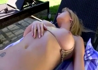 Sticking a bottle in daughter's shaved hole