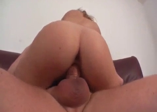 Bitchy brunette likes her uncle's dick