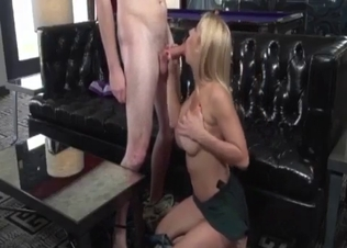 Big-boobed stepsister licked by hot brother